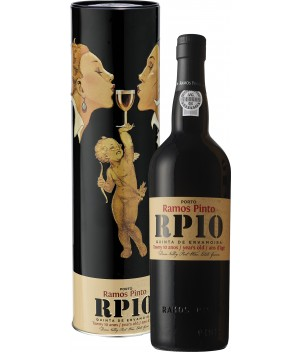 Ramos Pinto 10 year old Tawny in tinnen koker